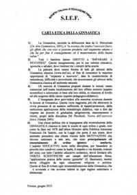 """Attestato di Salvatore Vonazzo per la preziosa collaborazione con la Rivista """"Podismo e Atletica"""""""