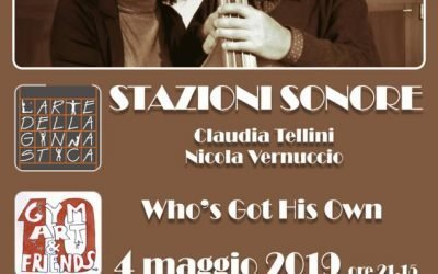 STAZIONI SONORE, Claudia Tellini e Nicola Vernuccio