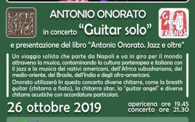 Gym Art & Friends ! Concerto 26 0ttobre 2019