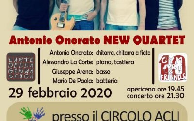 Gyn Art & Friends : Antonio Onorato new Quartet