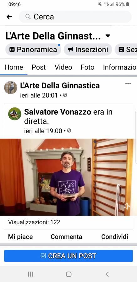 Nona lezione di Ginnastica colore viola ! Coordinazioni  (Vonazzo Salvatore ),esercizi per potenziamento ,braccia, gambe, addominali.