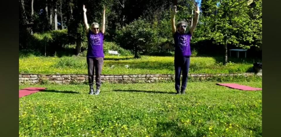 Ventoottesima lezione di Ginnastica colore viola 2
