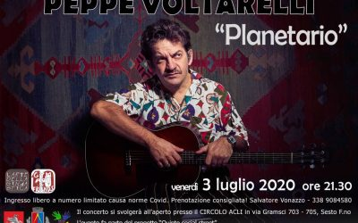 Gym art & Friends ! Peppe Voltarelli in concerto